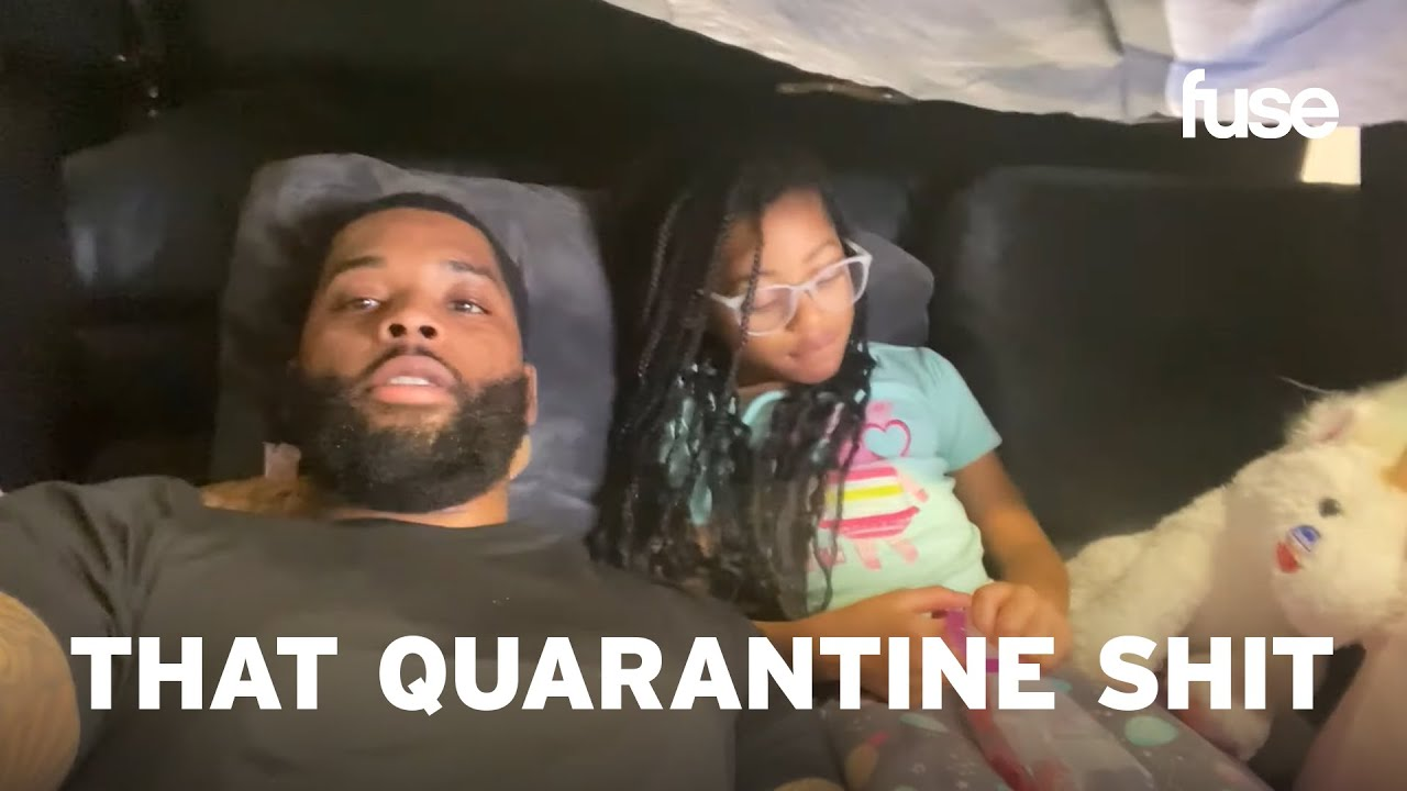 King Keraun Learns How To Make The Perfect At Home Pillow Fort | That Quarantine Shit | Fuse
