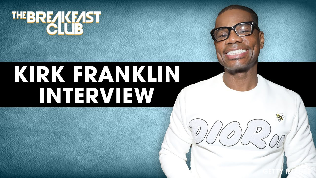 Kirk Franklin Talks Pain And Love, Universal Change, Verzuz Battle + More