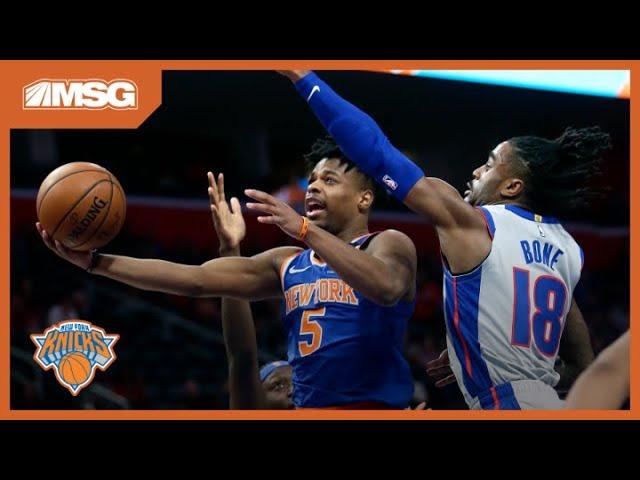 Knicks' Hustle & Tenacity Lead Them to Four Straight Wins | New York Knicks