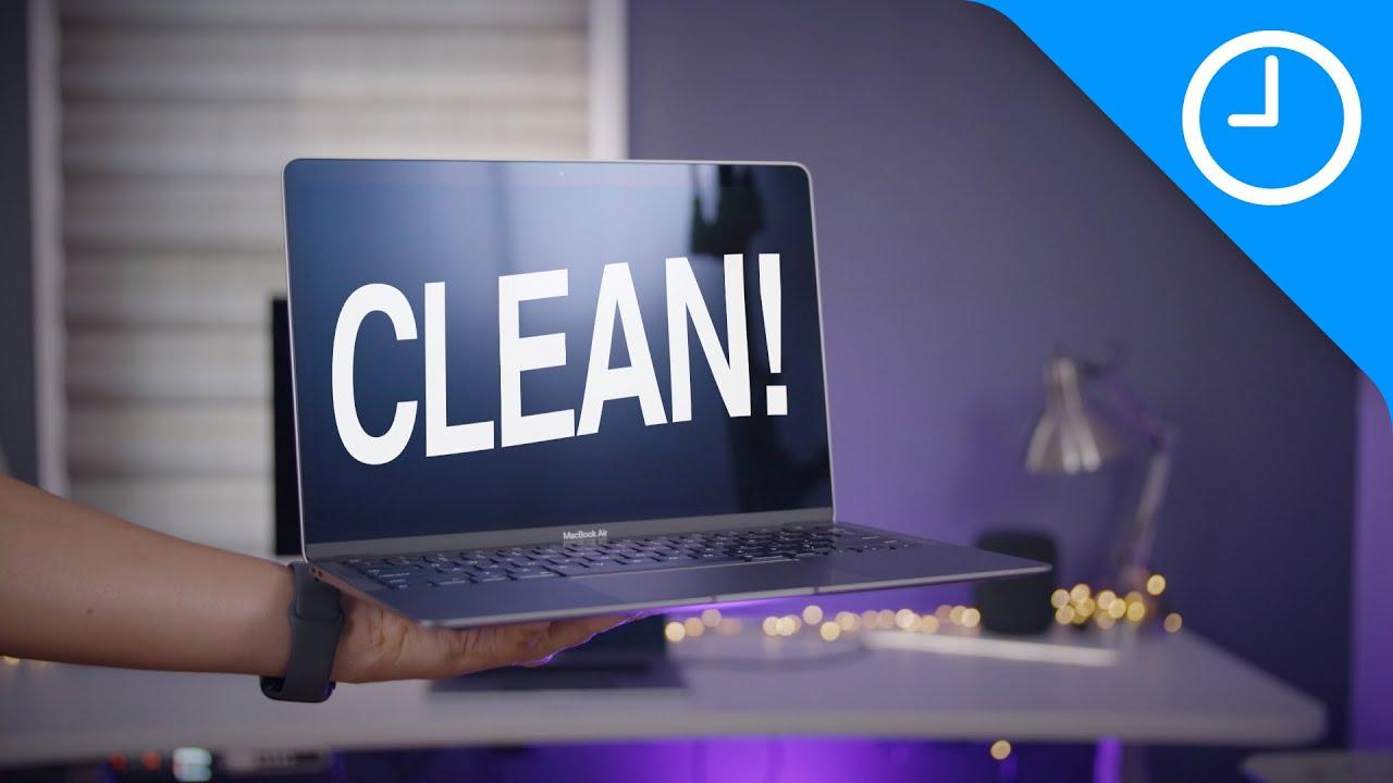 Mac 101: The BEST way to clean your MacBook's screen
