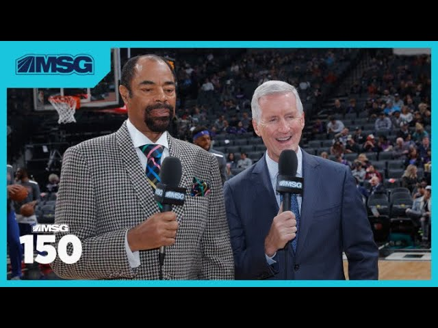 Mike Breen Elected Into Basketball Hall of Fame | MSG 150