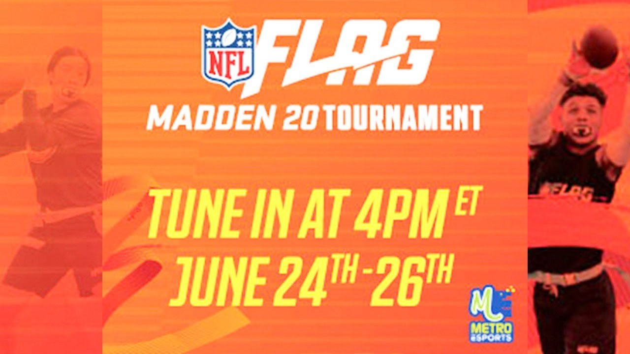 NFL Flag Players Compete in Madden Tournament! (Day 2)
