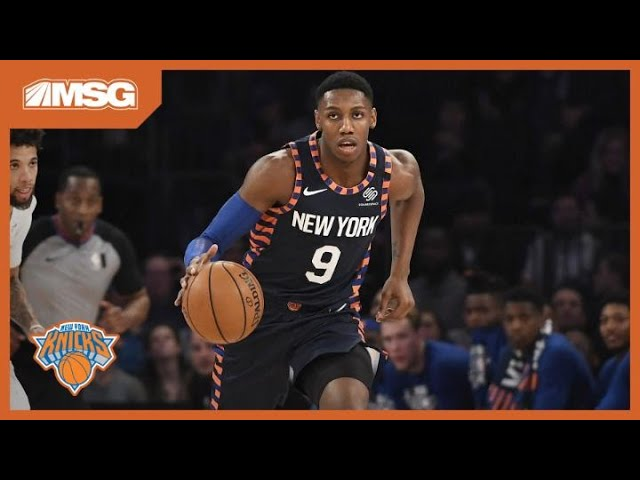 "RJ Returns, Payton ""Steals"" the Show in Knicks Win Over Magic 