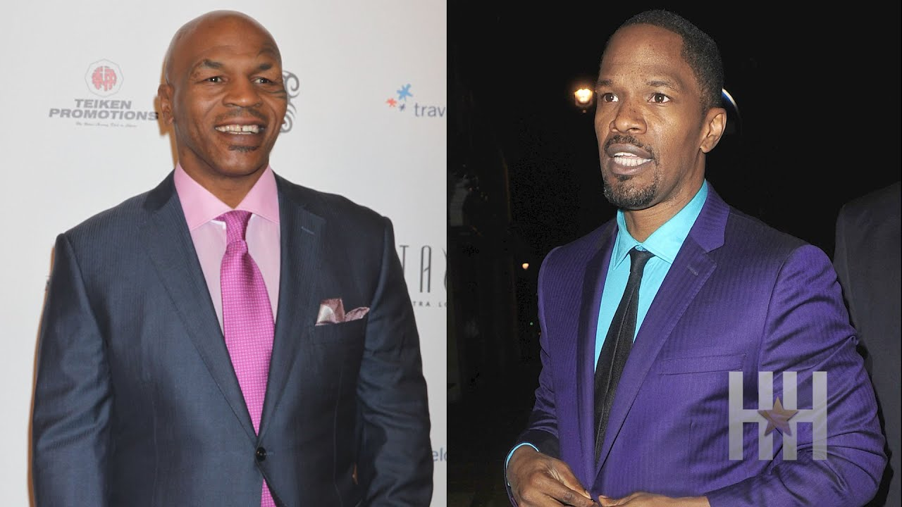 See Jamie Foxx's Incredible Transformation Into Mike Tyson!