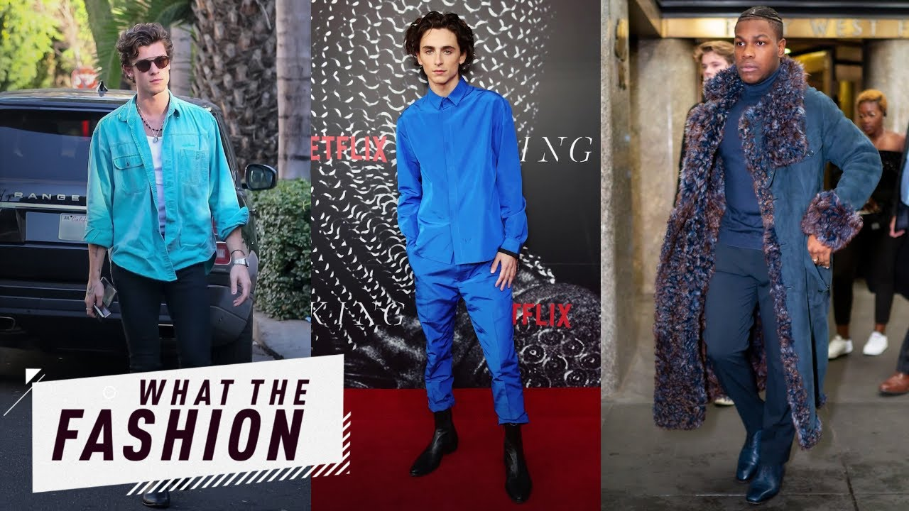 Shawn Mendes & More Blow Us Away in Blue | What the Fashion | E! News