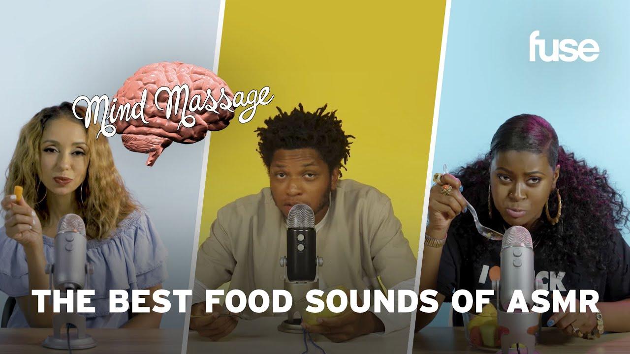 The Best Food Sounds of ASMR: Celery, Fruit Salad, Japanese Candy & More | Mind Massage | Fuse