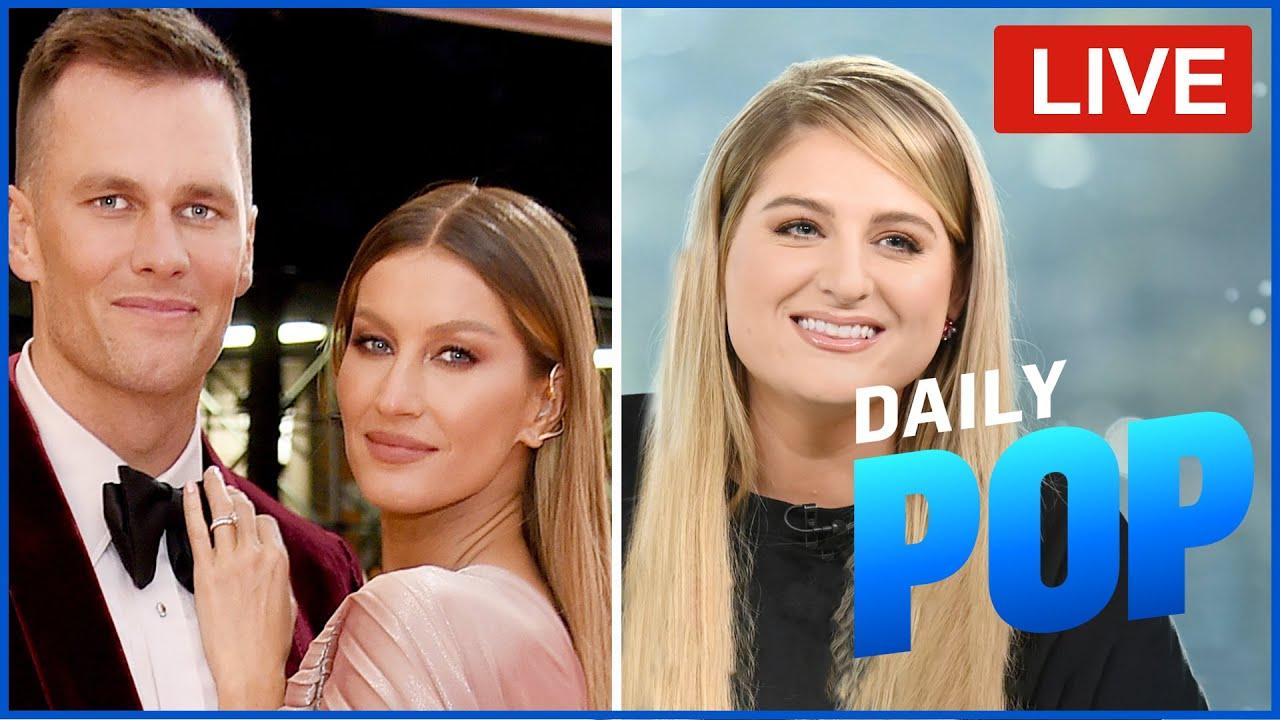 Tom Brady & Gisele's Marriage Issues & Meghan Trainor's Live Interview – Daily Pop Live! | E! News