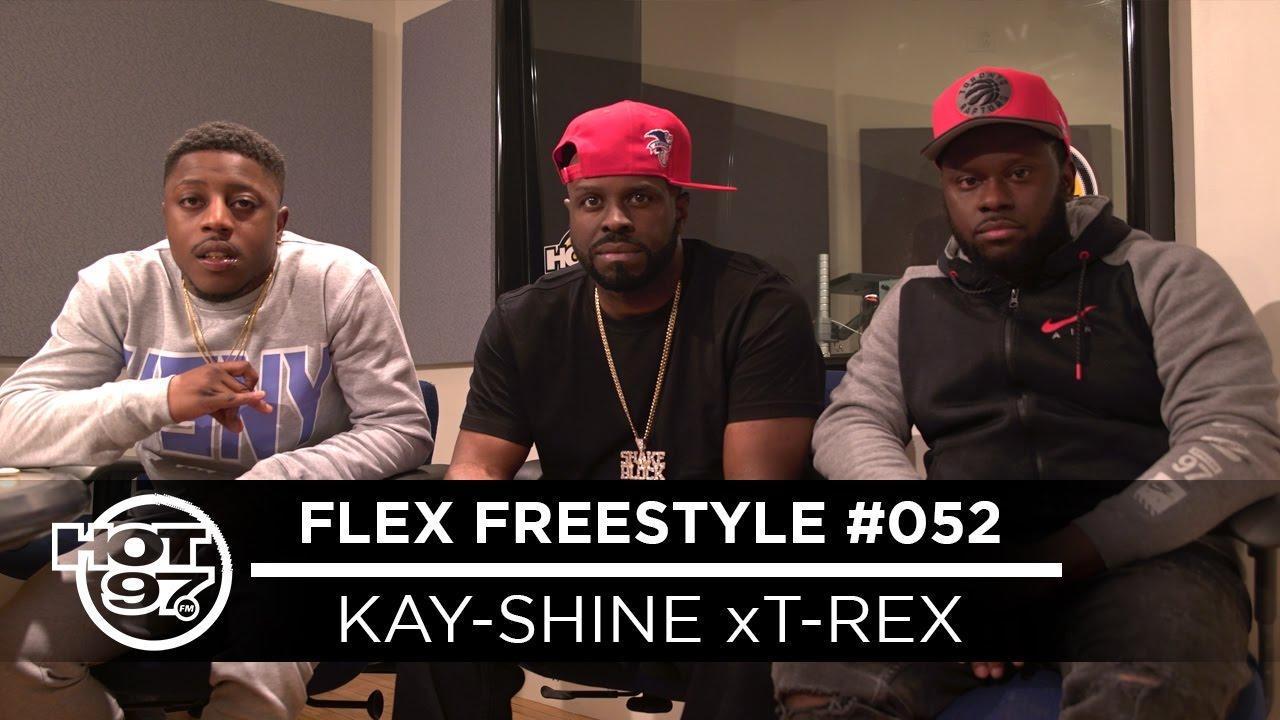 URL TV's Own Kay-Shine x T-Rex on Funk Flex | #Freestyle052