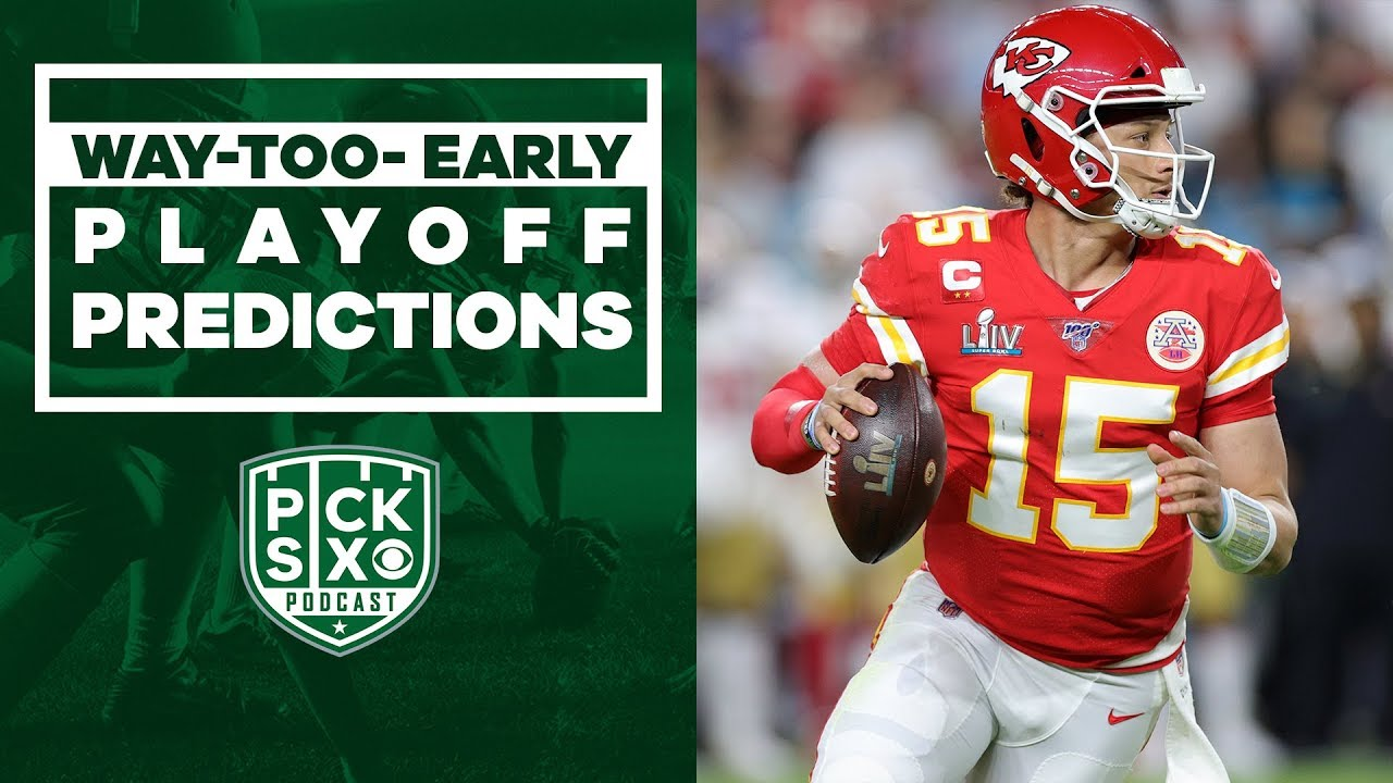 Way-Too-Early Playoff Predictions   Pick Six Podcast