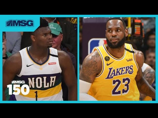 What We Learned From LeBron and Zion's First Meeting | MSG 150
