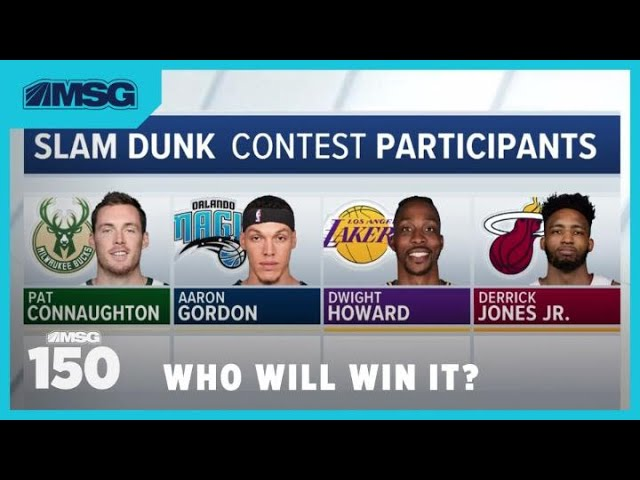Who Will Win the Slam Dunk & 3-Point Contests at NBA All-Star Weekend? | MSG 150