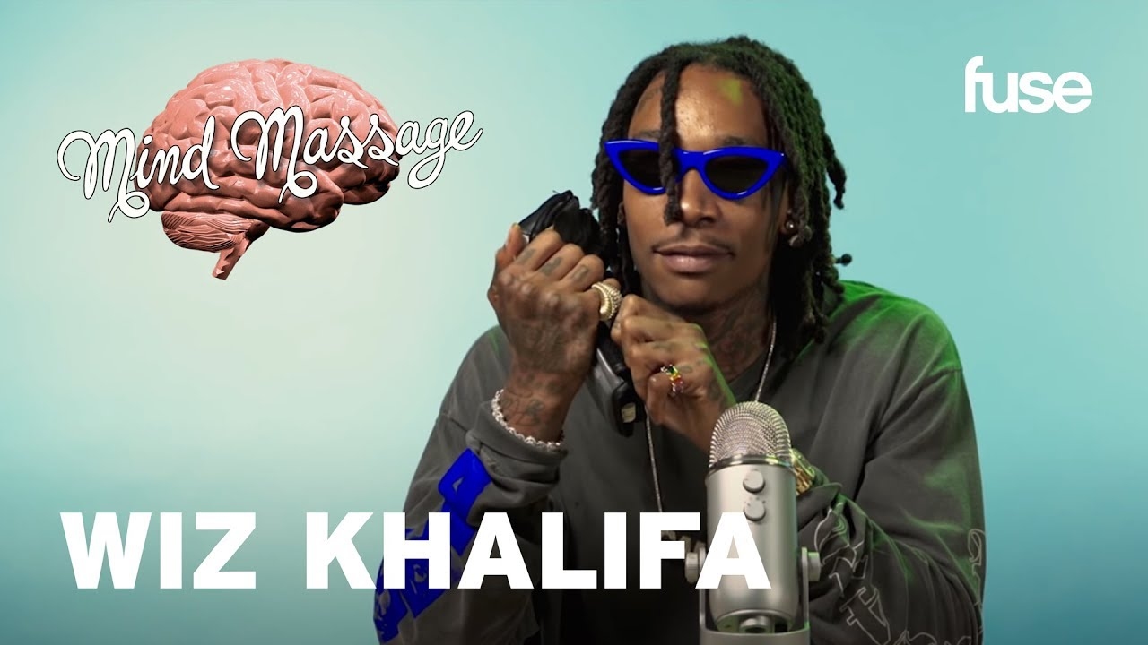 Wiz Khalifa Does ASMR & Talks Rolling Papers 2 | Mind Massage | Fuse