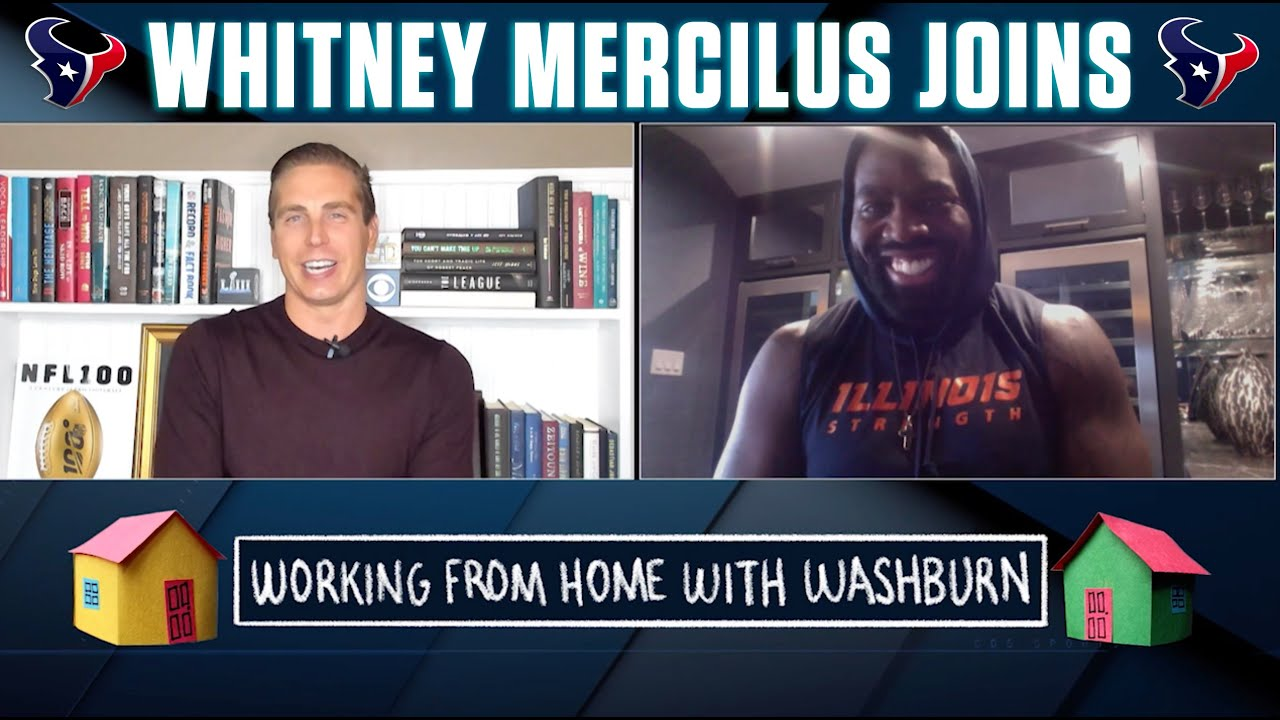 Working from Home with Washburn: Whitney Mercilus