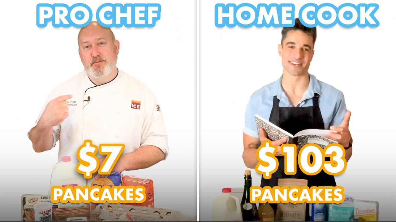 $103 vs $7 Pancakes: Pro Chef & Home Cook Swap Ingredients | Epicurious