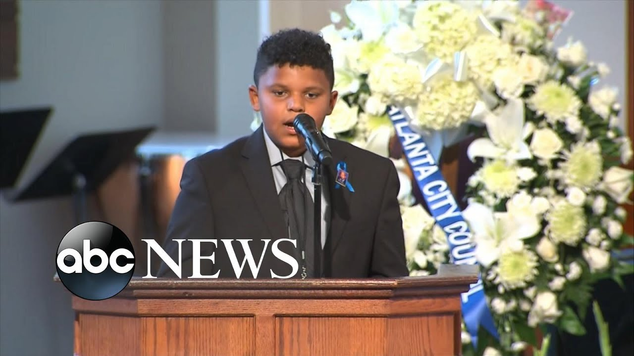 12-year-old recites poem at John Lewis' funeral | WNT