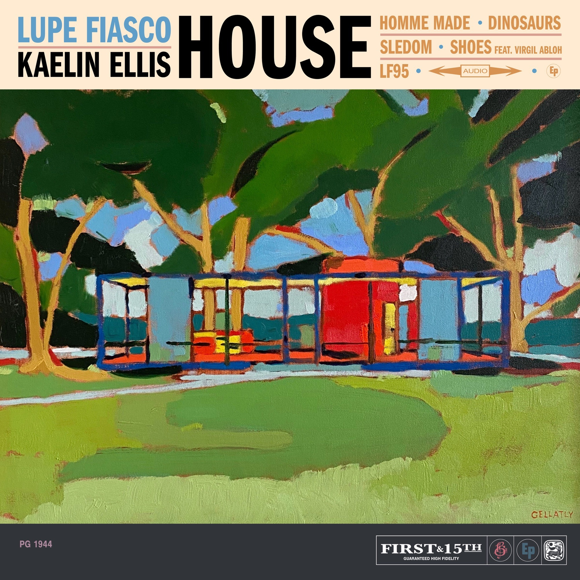 Lupe Fiasco & Kaelin Ellis – HOUSE (feat. Virgil Abloh)