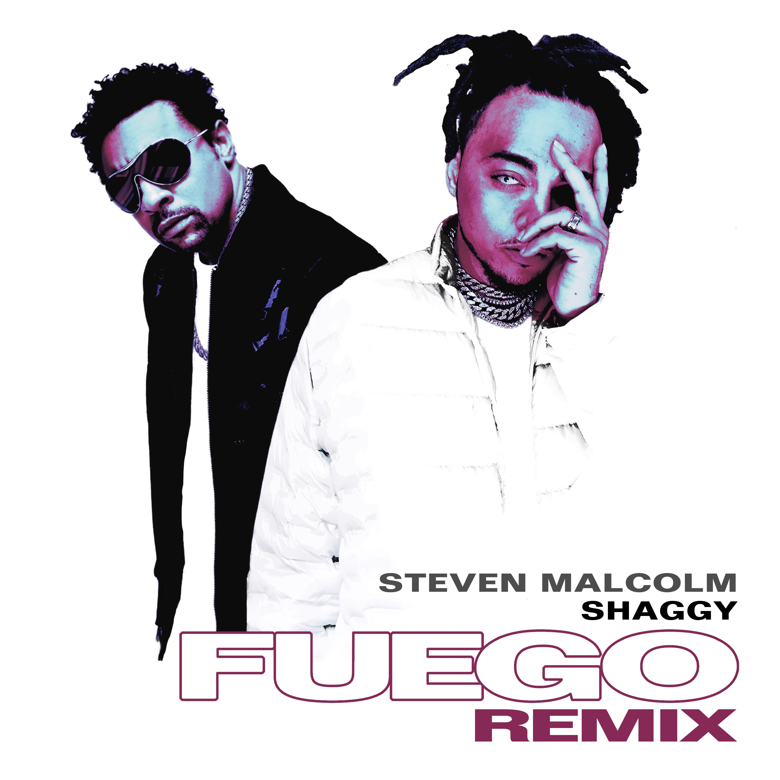 "Steven Malcolm Teams Up with Shaggy For ""Fuego Remix"""