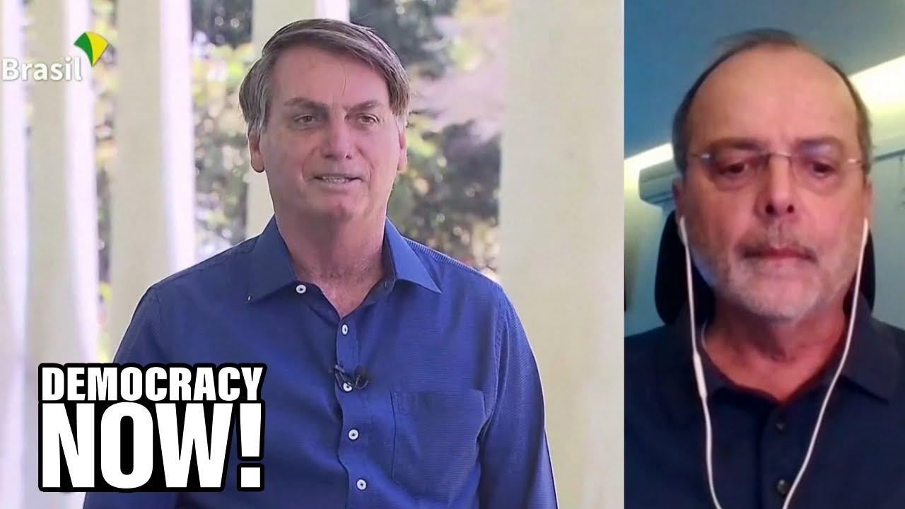 Brazilian Epidemiologist Slams Bolsonaro's COVID Response as Far-Right President Tests Positive