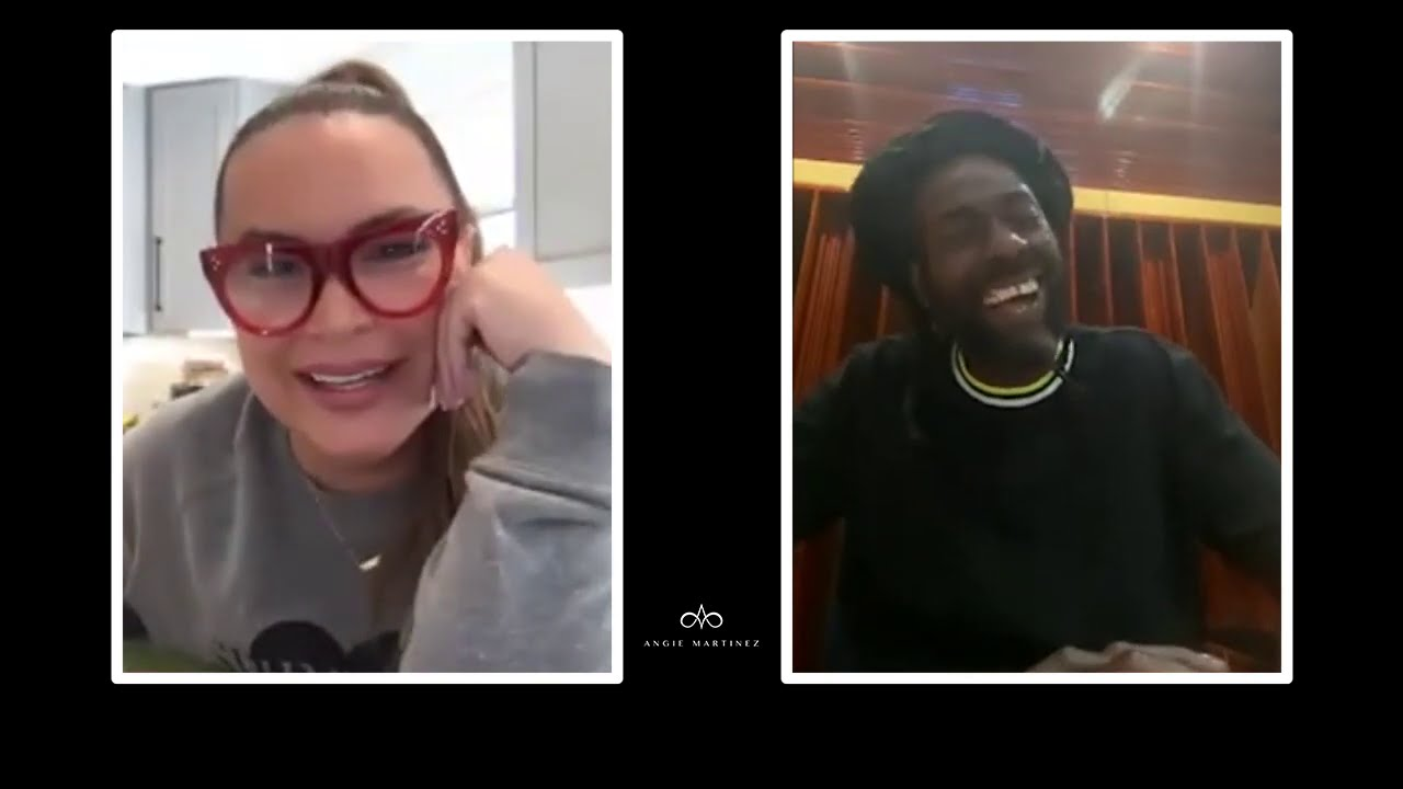 "Buju Banton & Angie Have Lunch To Discuss ""Upside Down 2020"" + Coping During Difficult Times"
