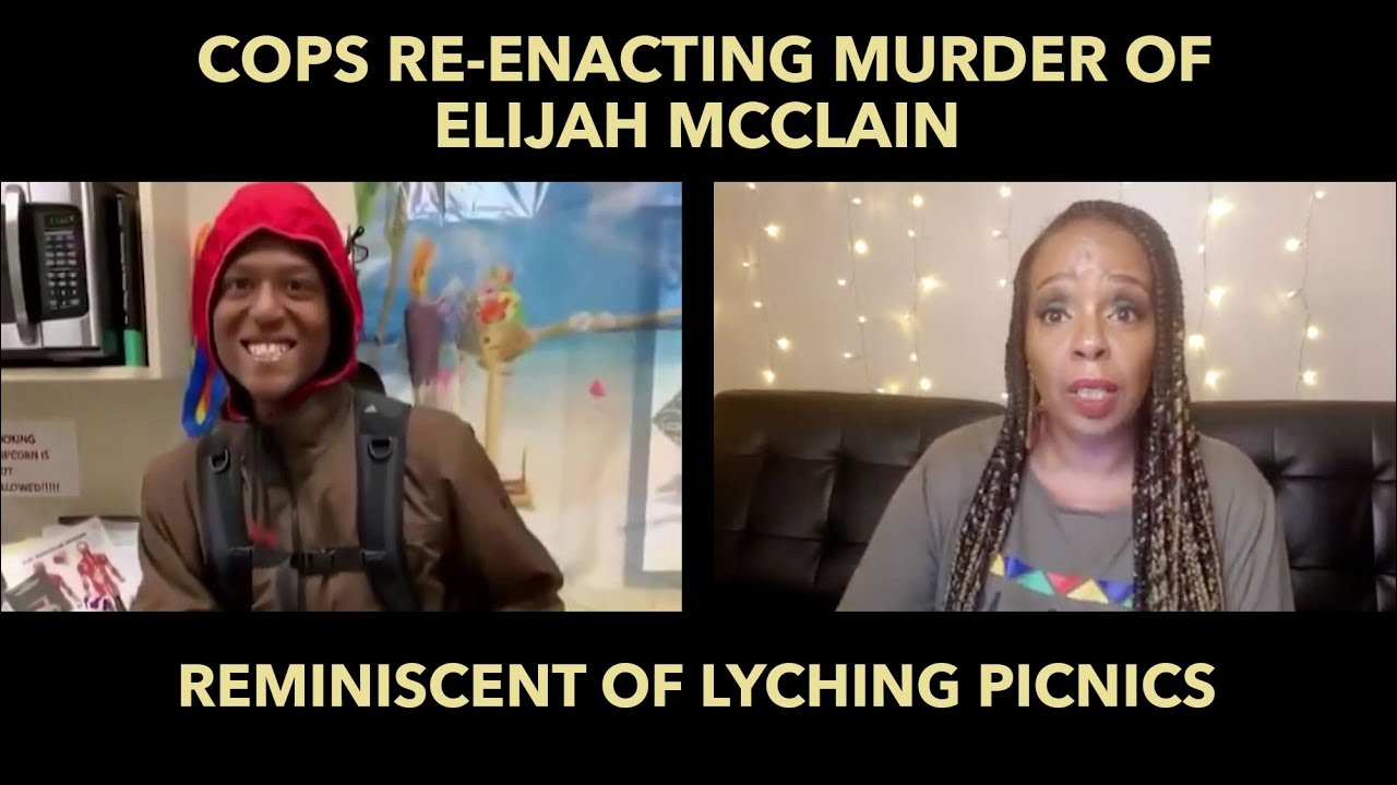 Cops Happily Re-enacting Murder of Elijah McClain Reminds Me of Lynching Picnics