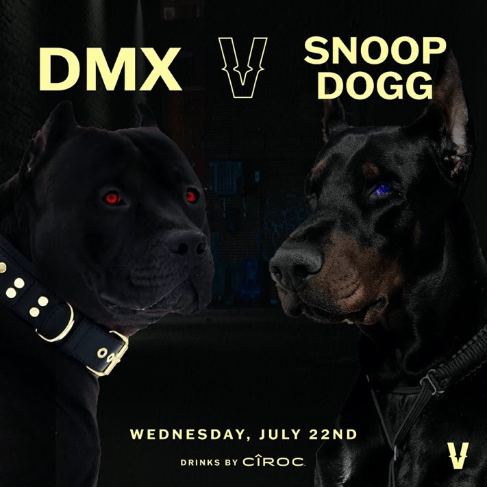 DMX VS SNOOP DOGG in Verzuz Battle July 22nd