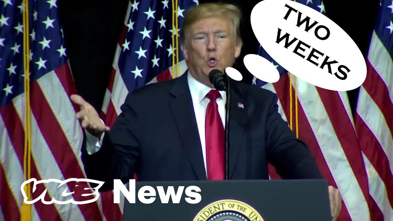Donald Trump's Two Week Notice