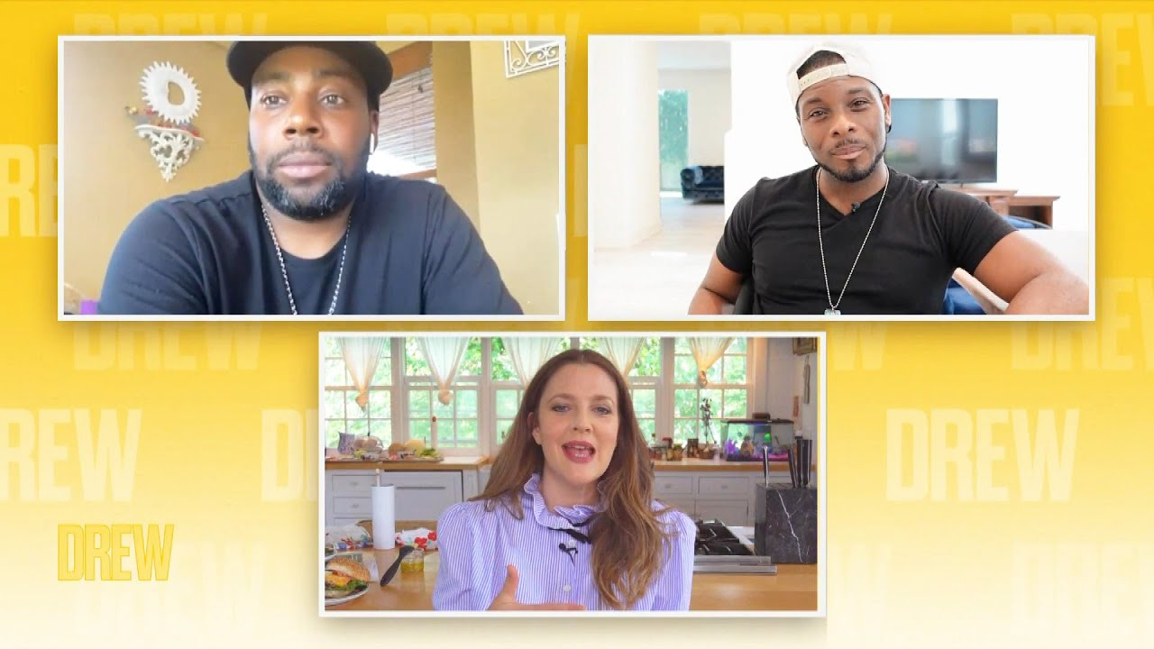 Drew Barrymore Talks Child Acting With Kenan Thompson and Kel Mitchell (Exclusive)