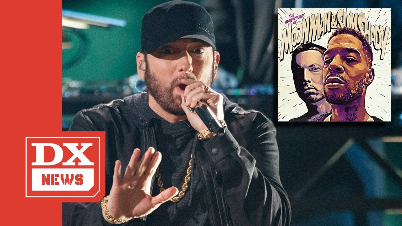 Eminem Takes Kid Cudi Moment To Ether Drew Brees, Dirty Cops & Donald Trump