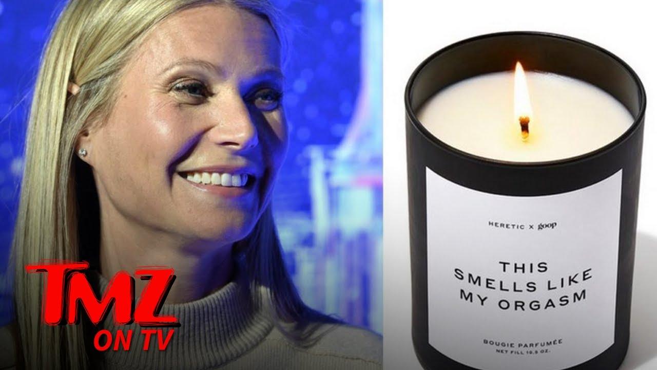 Gwyneth Paltrow's New Candle Smells Like Her Orgasm | TMZ