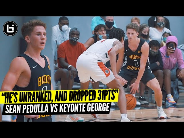 He's Unranked And Dropped 31Pts on a Nike Team! Sean Pedulla vs Keyonte George