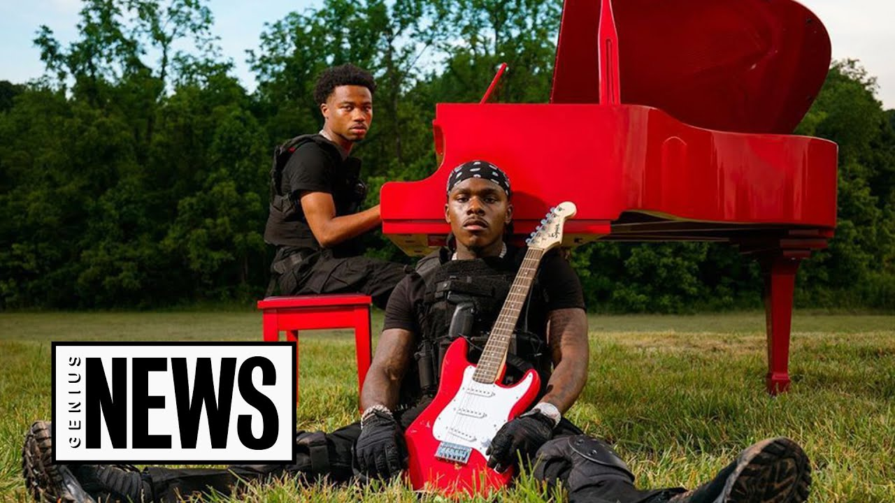 """How DaBaby & Roddy Ricch Fought Zombies In The """"ROCKSTAR"""" Music Video 