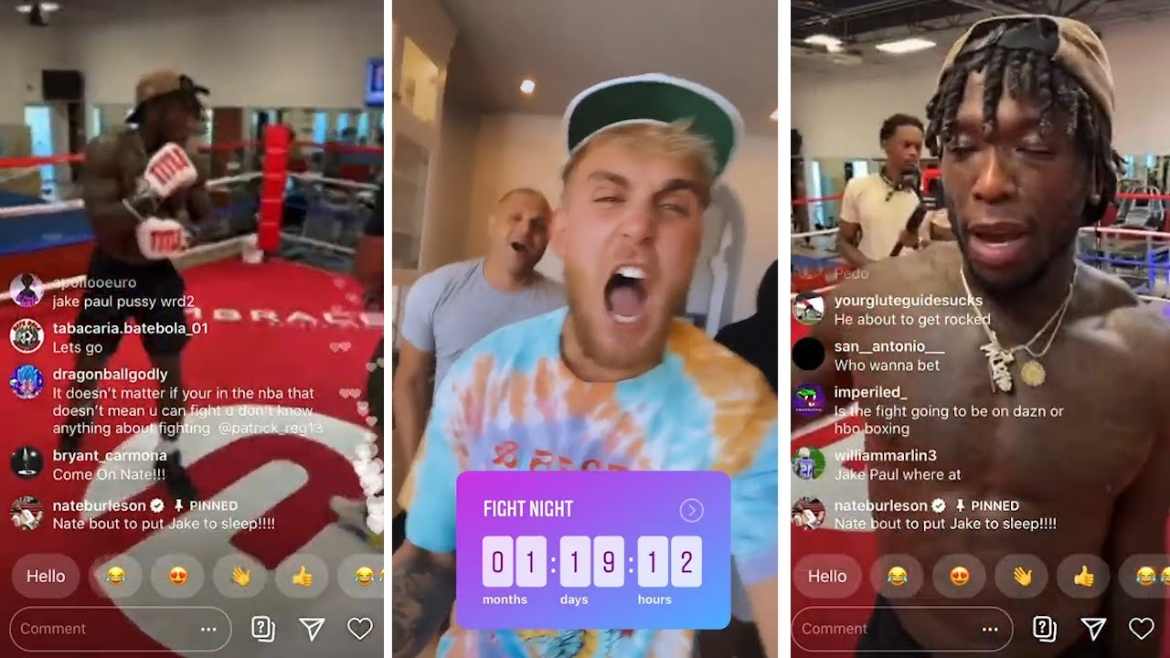 Jake Paul Buys NEW RING For Nate Robinson Fight, Nate Training   Mike Tyson Roy Jones Jr Undercard