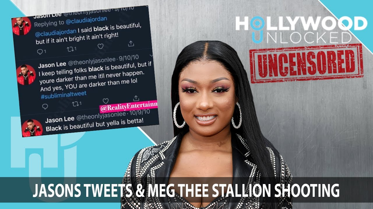 Jason Lee Responds to Old Tweets & Meg Thee Stallion Shooting on Hollywood Unlocked [UNCENSORED]