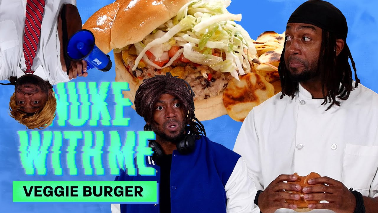 Marlon Makes A Veggie Burger and Chips in His Microwave | Nuke With Me