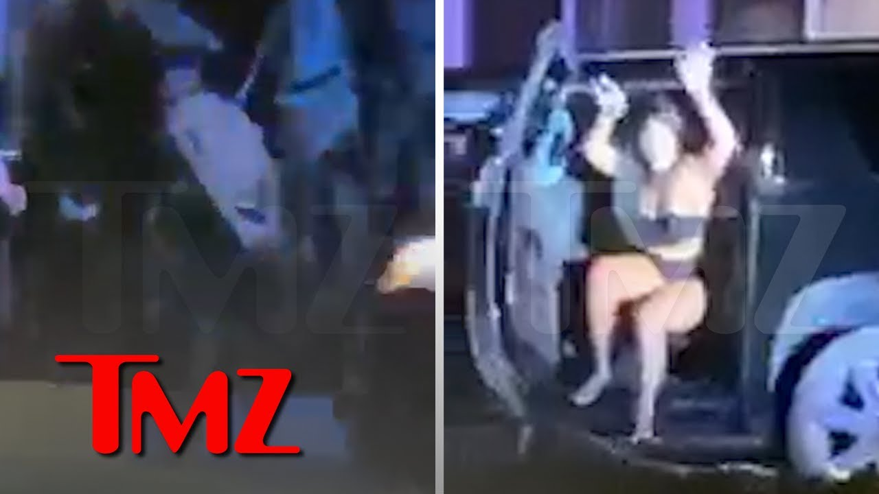 Megan Thee Stallion & Tory Lanez Swarmed by Cops During His Gun Arrest | TMZ