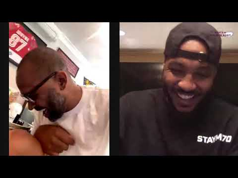 Mike Epps | What's In Your Glass | Carmelo Anthony