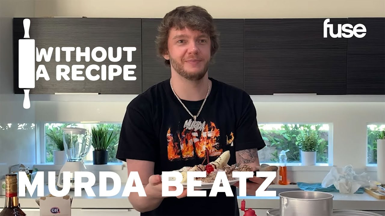 Murda Beatz Attempts to Make A Homemade Banana Split With No Instructions | Without A Recipe | Fuse