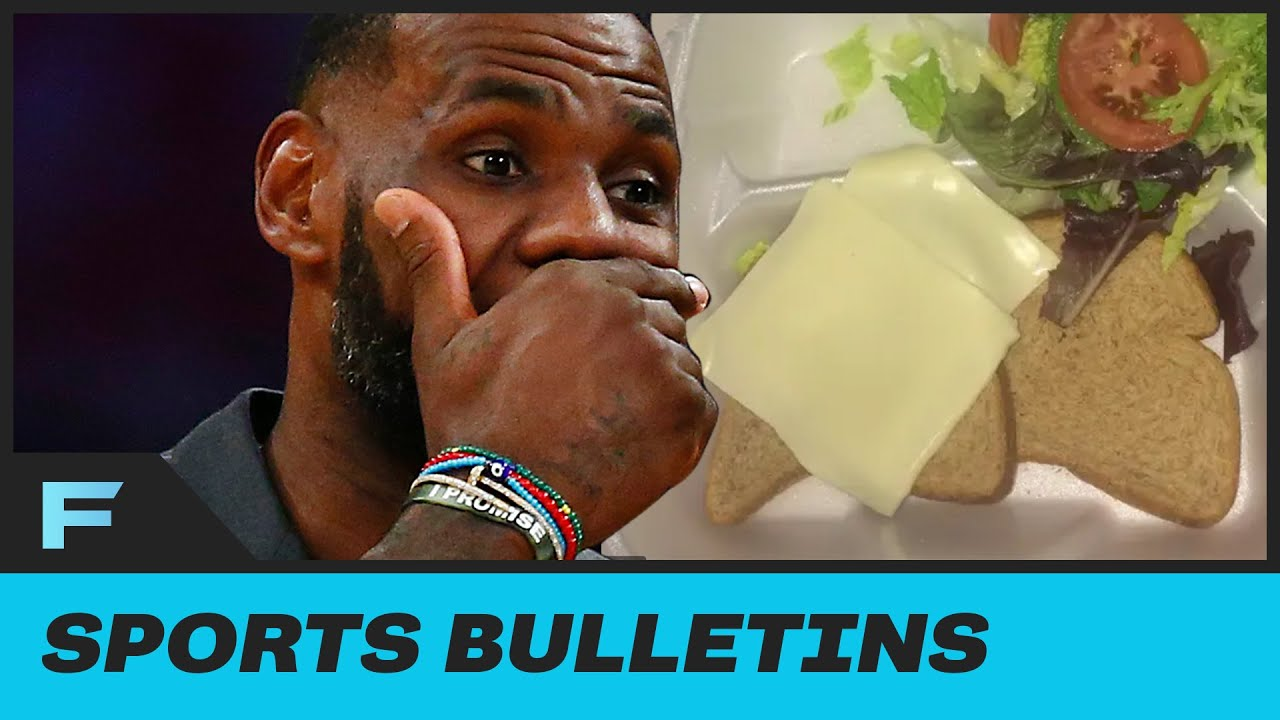 NBA Bubble Being Compared To Fyre Fest As Players Share Sad Food, Living Conditions