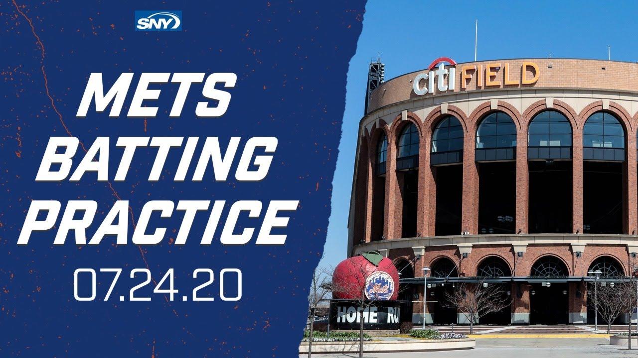 New York Mets Opening Day Batting Practice | 7.24.20 | New York Mets | SNY