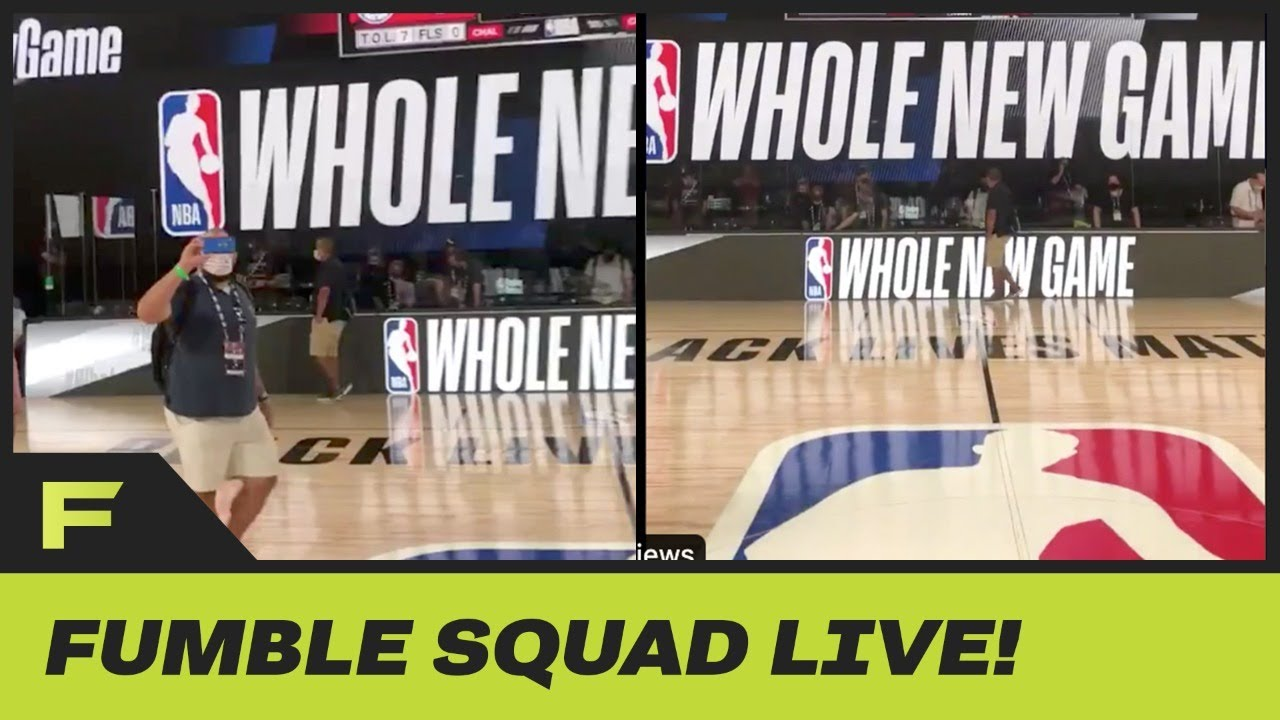 Official NBA Bubble Court Revealed! And It Looks Pretty Awesome | Fumble Live!