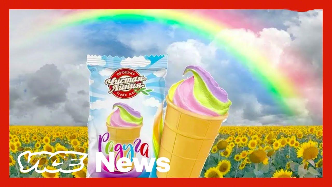 Putin Thinks Ice Cream Is Part of the Gay Agenda