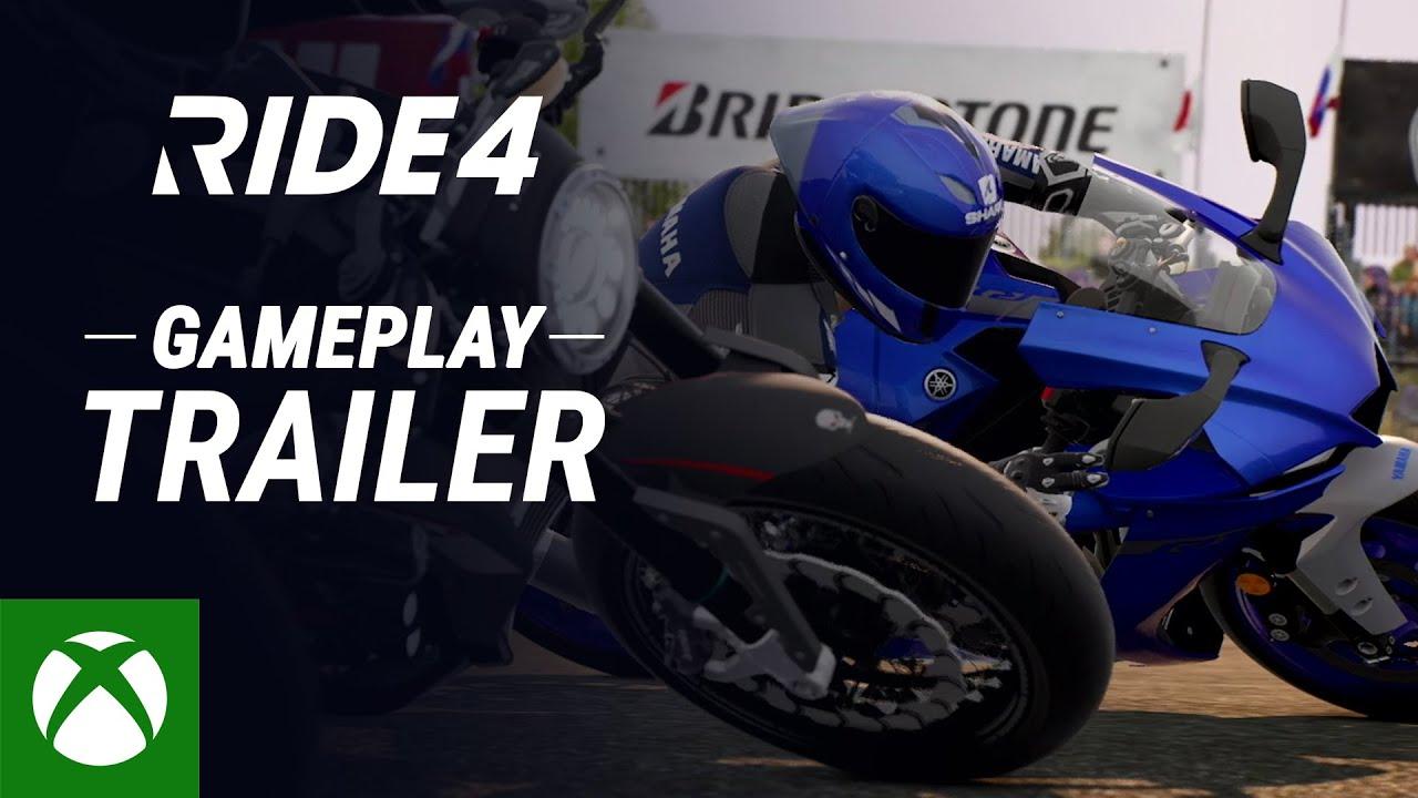 RIDE 4   Gameplay Trailer