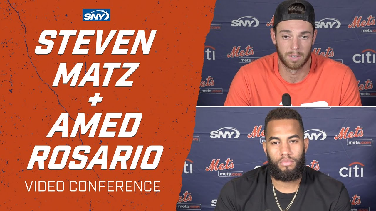 Steven Matz and Amed Rosario explain the new way of life at Citi Field | New York Mets | SNY