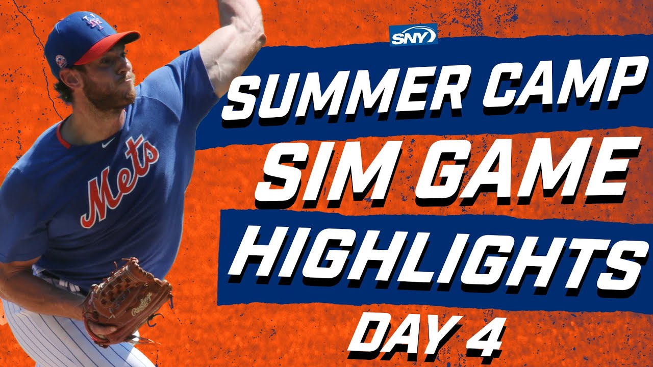Steven Matz takes the mound in Monday's Summer Camp sim game | New York Mets | SNY