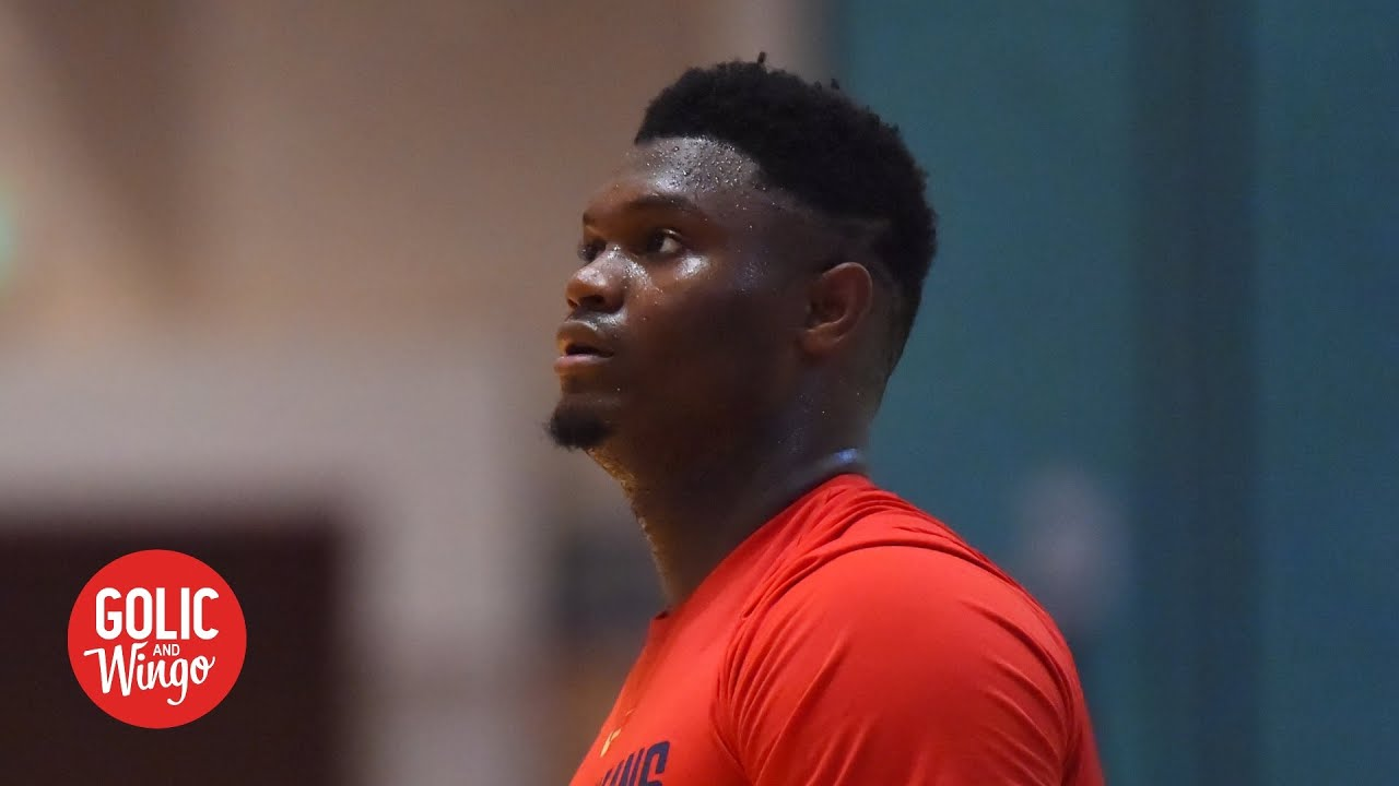 Still no word on Zion's status after he left bubble for emergency – Marc J. Spears | Golic & Wingo