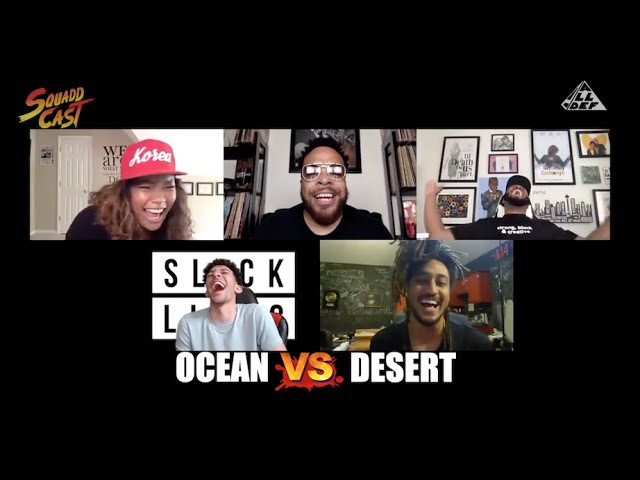Stranded In Ocean  vs Stranded In Desert | Squadd Cast Versus | Episode 29 | All Def