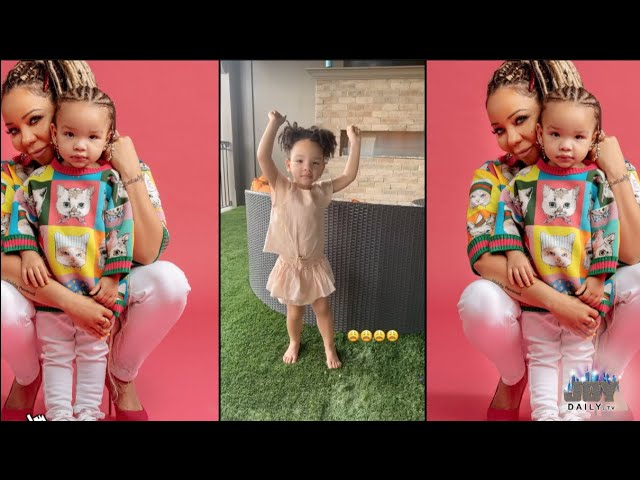 T.I.'s Daughter Heiress Shows Off Her Dance Moves to Tiny