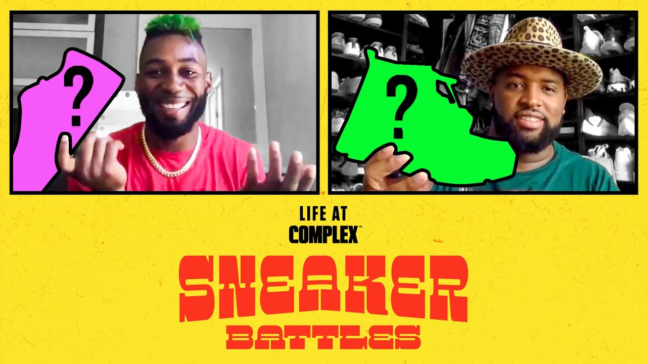 The Green Goblin, Jalen Mills vs Miami Dolphins Davon Godchaux In A SneakerBattle | #LIFEATCOMPLEX