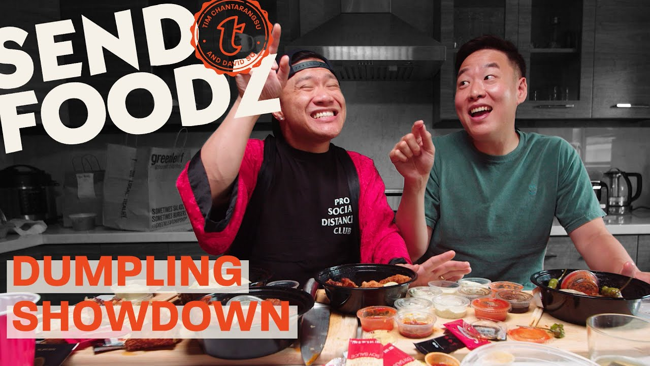 Tim and David Do All You Can Eat Dumplings Showdown | Send Foodz
