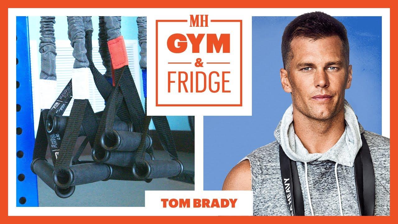 Tom Brady Shows His Gym and Fridge  | Gym & Fridge | Men's Health